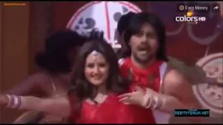Gaurav Chopra and Rashami Desai performance at Colors Holi Celebration