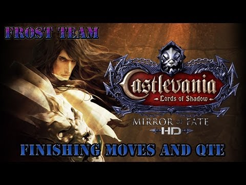 Castlevania Lords of Shadow Mirror of Fate HD Finishing Moves and QTE 1080 HD |