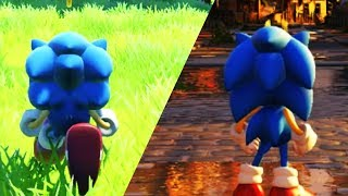 Sonic Forces Classic Sonic In Modern Stages