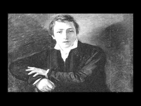 "Heinrich Heine ""When Two Who Love Are Parted"" Poem animation"