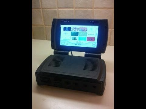Portable wii laptop youtube for Wii u portable mod