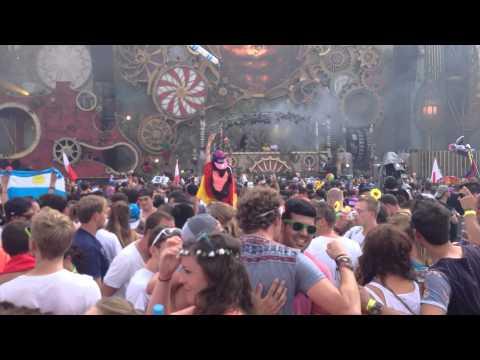 Above & Beyd  Liberate Eric Prydz  Tomorrowland 2014