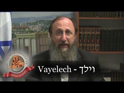Weekly Torah Portion: Vayelech/Yom Kippur Message