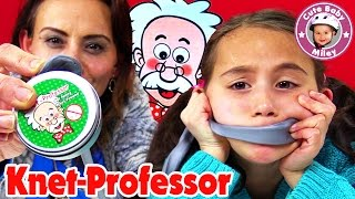 knet professor test   intelligente knete thinking putty   cutebabymiley