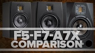 aDAM Audio - F5, F7, A7X - Studio Monitor Comparison and Review