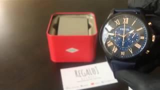 Reloj FOSSIL FS5061 - UNBOXING FOSSIL Watch FS5061 (Regaloj)