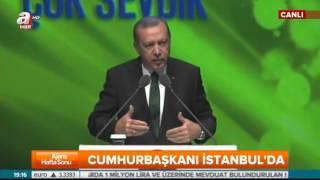 Cumhurbaşkanı Recep Tayyip Erdoğan Gala ve Ödül Töreni