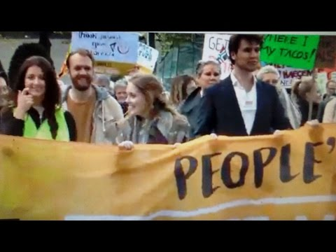 People's Climate March 2017 @ Amsterdam  the netherlands