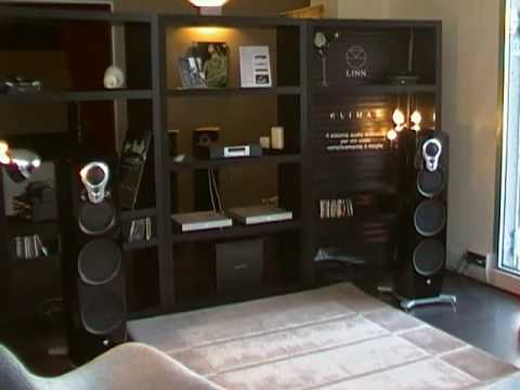 audiophile club sistema linn ds majik dsi klimax solo500 e diffusori klimax 350 youtube. Black Bedroom Furniture Sets. Home Design Ideas