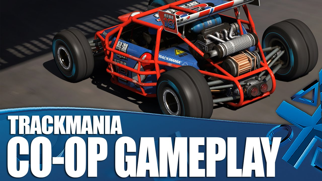 trackmania turbo ps4 co op gameplay youtube. Black Bedroom Furniture Sets. Home Design Ideas