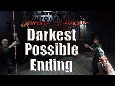 Darkest Possible Ending | The Walking Dead: Saints And Sinners VR 4K
