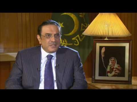 Talk to Al Jazeera - Asif Ali Zardari - 02 Nov 08 - Part 1