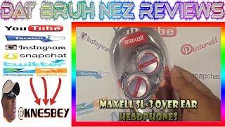 MAXELL SL-3 / EC-150 OVER EAR HEADPHONES