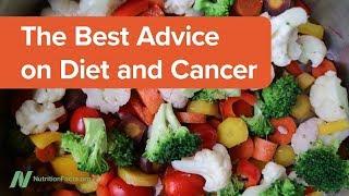 Nejlepší rady ohledně stravy a rakoviny