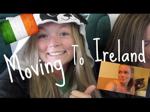 Moving To Ireland! || Vlog