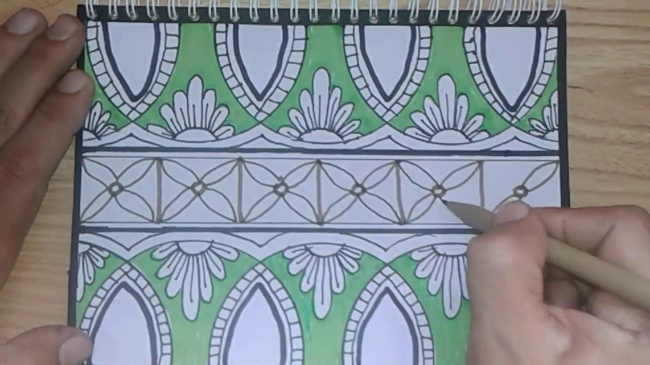 Drawing Batik Art Cara Membuat Batik