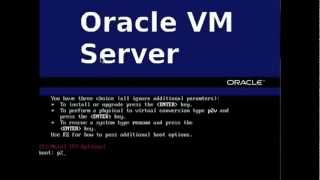 Oracle VM 3.0.3, Step 1of3 Doing A P2V (Good Video Demo Quality)