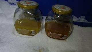 Тест масла Honda 5w30 и  Idemitsu 5w30 при -40 градусов мороза