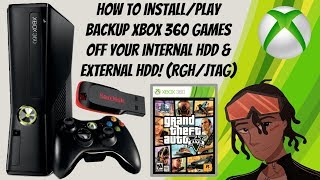 How To Install/Play Xbox 360 Games Off Your Internal HDD & External HDD RGH/JTAG (Episode 3) #RGH