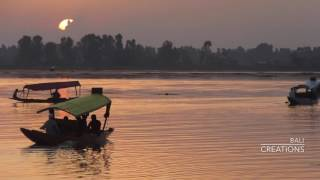 Dal Lake Sunset--Watch Till End