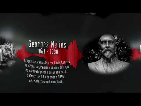 Les Voix du Siècle : Georges Méliès (1861 – 1938) La première séance de cinéma  [video 360]