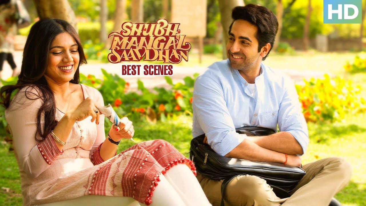 Shubh Mangal Saavdhan | Best Scenes | Ayushmann Khurrana & Bhumi Pednekar | Superhit Bollywood Movie