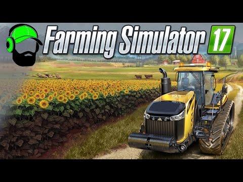 Farming Simulator 17 Multiplayer Gameplay - Working the BGA