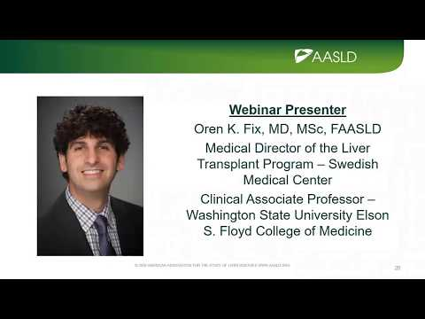 Webinar: COVID-19 and the Liver Telemedicine during the COVID-19 Pandemic & Beyond June 4, 2020