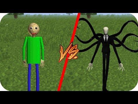 Casa Baldis Basics vs Casa Slenderman - Minecraft pe juego gratis