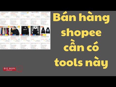 Tools Shopee fan nghiên cứu thị trường shopee