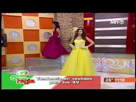 a1a1c947e6 QUETA RDZ PASARELA VESTIDO XV AÑOS EN GENTE REGIA TV SEPT 2012 - YouTube