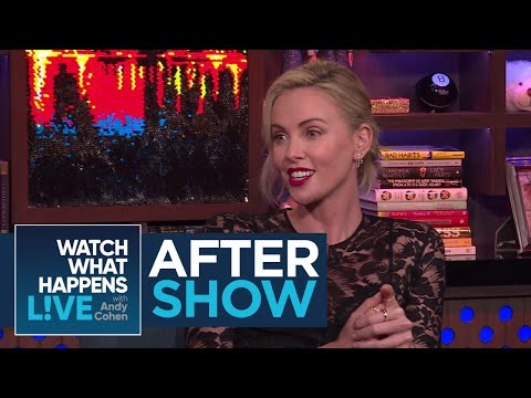 After : Charlize Theron And Ron Livingston's Sweet Compliments  WWHL