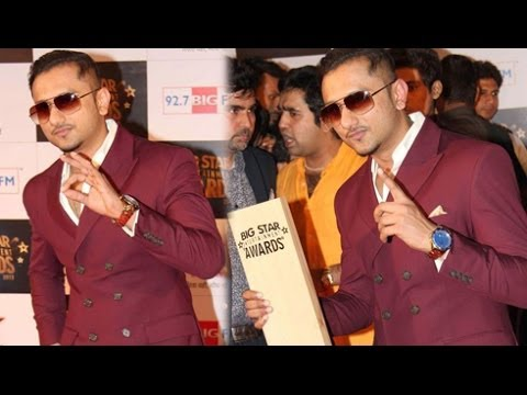 Big Star Awards 2013 | Yo Yo Honey Singh Wins Best Singer Male Award