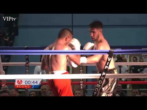 Danny Wright v Ilian Markov in Oldham on 29.8.2017