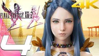 Final Fantasy XIII-2 - Gameplay Walkthrough Part 4 - Oerba & Caius Boss [4K 60FPS]