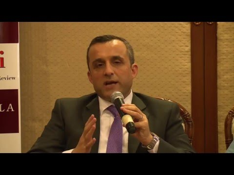 Discussion with Amrullah Saleh: On Afghanistan's geopolitics and other issues