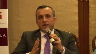 Discussion with Amrullah Saleh: On Afghanistan