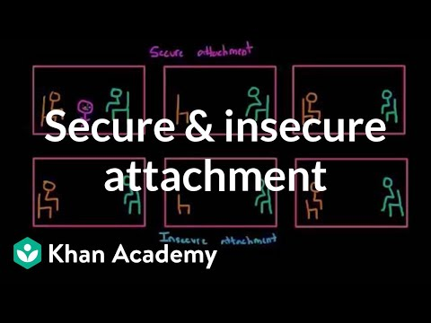 Secure and insecure attachment | Individuals and Society | MCAT | Khan Academy