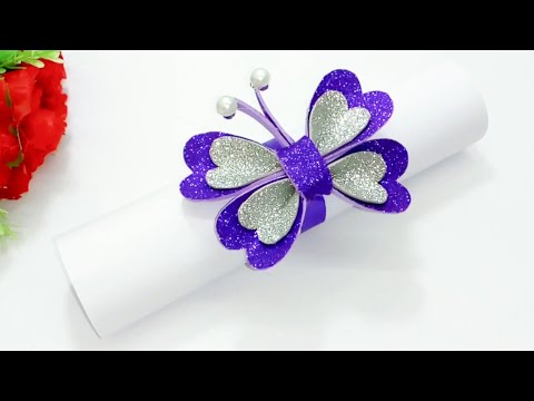 Birthday special greeting card | How to make handmade greeting card for birthday | Queen's home