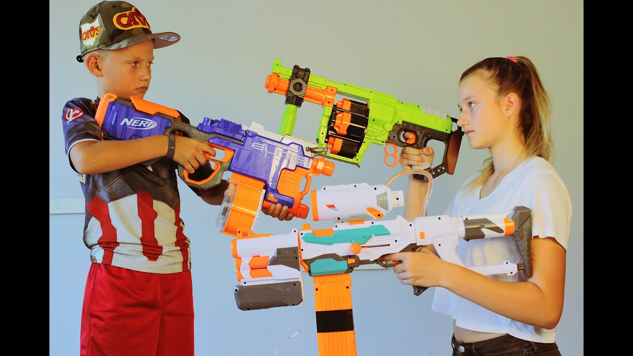 how to prepare for a nerf war