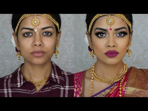 Indian Bridal Makeup | South Indian Bride