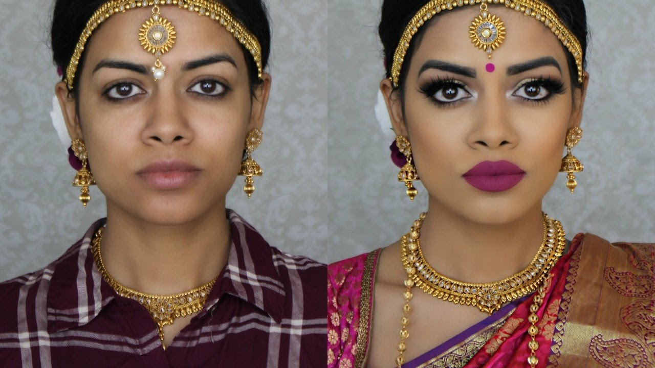 indian bridal makeup | south indian bride - youtube