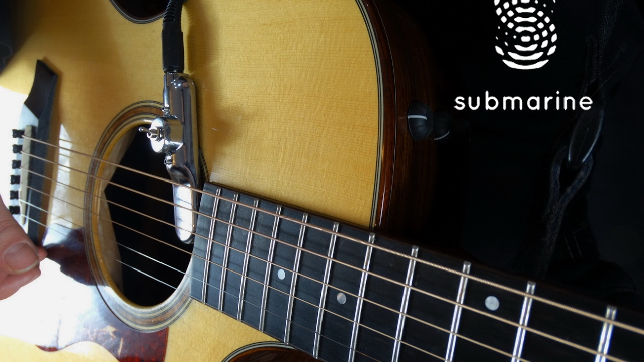 submarine pickup acoustic guitar with pedal effects youtube. Black Bedroom Furniture Sets. Home Design Ideas