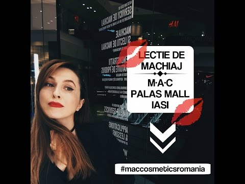Lectie de machiaj in magazinul MAC din Palas Mall Iasi