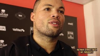 JOE JOYCE SPLITS WITH TRAINER ISMAEL SALAS!!! NO NICK WEBB FIGHT!!!
