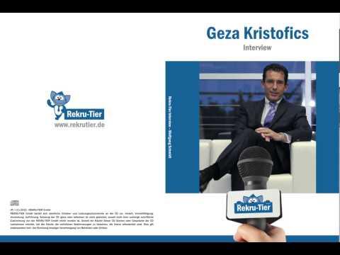 REKRU-TIER Interview mit Geza Kristofics (Direktor bei Swiss Life Select)