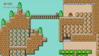 The Old Fashioned West Stadium by Riley W ~ SUPER MARIO MAKER ~ NO COMMENTARY