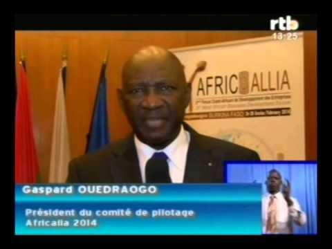 3e forum Africallia lancement à l'ambassade du Burkina Faso en France