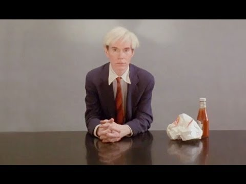 Watch Andy Warhol Eat a Hamburger While Listening to The Mothership