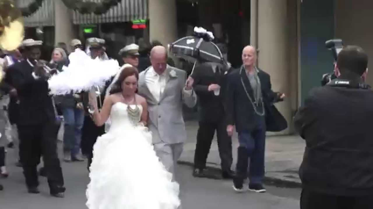 Second Line Wedding | New Orleans Wedding Second Line 12 20 2014 Louisiana Youtube